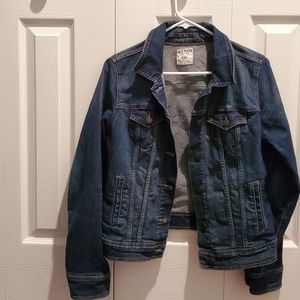 Old Navy dark wash jean jacket